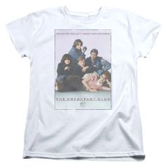 The Breakfast Club Poster Womens T-shirt