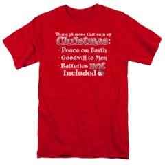 Christmas Three Phrases T-shirt