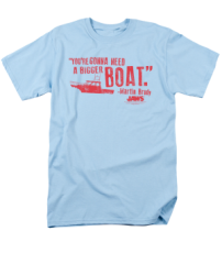 Jaws A Bigger Boat T-shirt