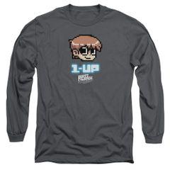 Scott Pilgrim vs The World 1 Up Long Sleeve T-shirt