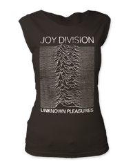 Joy Division Unknown Pleasures Black Women's Sleeveless T-shirt