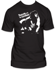 Siouxsie and the Banshees Hands and Knees Black Short Sleeve Adult T-shirt