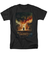 The Hobbit The Battle of the Five Armies Smaug Poster Adult T-shirt