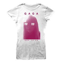 Lady Ga Ga Ooh La La Junior T-shirt
