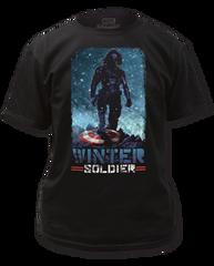 Captain America Winter Solder Adult T-shirt