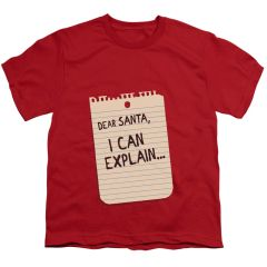 Christmas Note Youth T-shirt