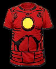 Iron Man Suit Big Print Adult T-shirt