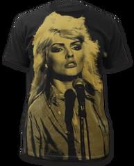Debbie Harry Debbie Harry Black Sublimation Print Short Sleeve Adult T-shirt