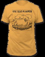 Dead Milkmen Big Lizard Ginger Cotton Short Sleeve Adult T-shirt