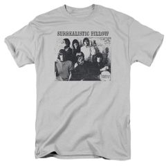 Jefferson Airplane Surrealistic Pillow Silver T-shirt