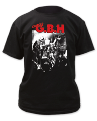 G.B.H Live Photo Black Short Sleeve Adult T-shirt