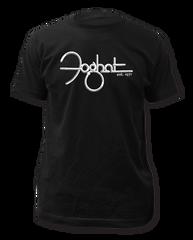 Foghat Est. 1971 Black Short Sleeve Adult T-shirt