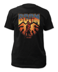 Army of Darkness Boom Black Short Sleeve Adult T-shirt