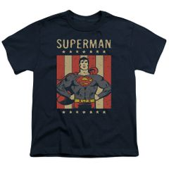 Superman Retro Liberty Youth T-shirt