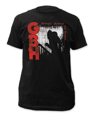 G.B.H Midnight Madness Black Short Sleeve Adult T-shirt