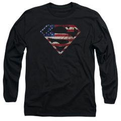 Superman Super Patriot Long Sleeve T-shirt