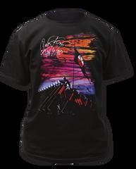 Pink Floyd Hammer March Black Short Sleeve Adult T-shirt