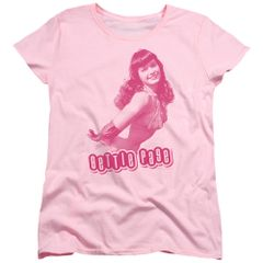 Bettie Page Youll Put Eyes Out Pink Short Sleeve Women's T-shirt