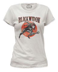 Black Widow Widow Run Junior T-shirt