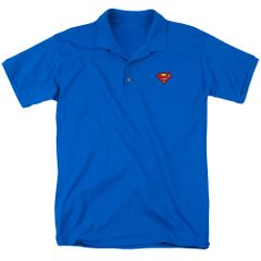 Superman Super Patch Polo Shirt