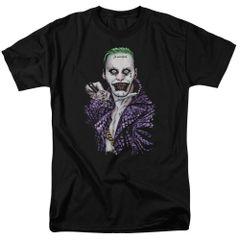 Suicide Squad Blade Black Adult T-shirt