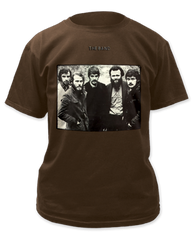The Band The Band Pigment Dyed Dark Chocolate Short Sleeve Adult T-shirt