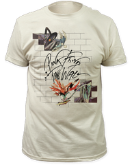 Pink Floyd Wife and Teacher White Short Sleeve Adult T-shirt