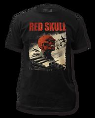 Red Skull Infantry Adult T-shirt