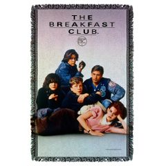 The Breakfast Club Post Woven Throw Blanket