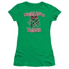Christmas Mistletoe Tester Junior T-shirt