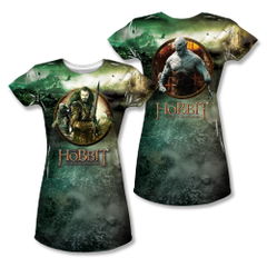 The Hobbit The Battle of the Five Armies Dwarves vs Azog Junior Sublimation Front & Back Print T-shirt
