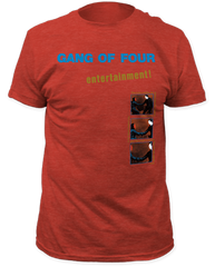 Gang of Four Entertainment Vintage Red Short Sleeve Adult T-shirt