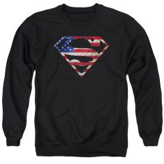 Superman Super Patriot Crewneck Sweatshirt