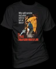 The Texas Chainsaw Massacre Bizarre & Brutal Crimes Adult T-shirt