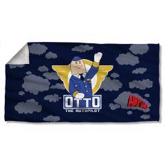 Airplane Otto Beach Towel