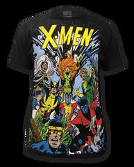 X-men The Gang Big Print Adult T-shirt