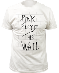 Pink Floyd The Wall White Short Sleeve Adult T-shirt