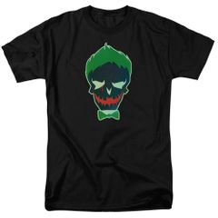 Suicide Squad Joker Skull Adult T-shirt