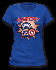 Captain America Super Womens T-shirt