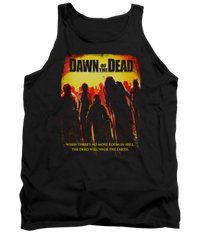 Dawn of the Dead Title Adult Tank Top T-shirt