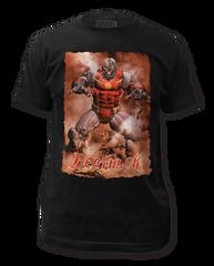Deathlok Action Portrait Adult T-shirt