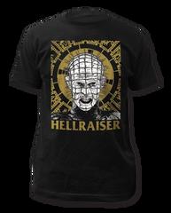Hellraiser Pinhead Illustration Black Short Sleeve Adult T-shirt