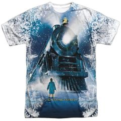 Christmas Polar Express Journey FB Print T-shirt