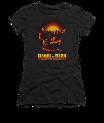 Dawn of the Dead Dawn Collage Junior T-shirt