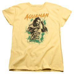 Aquaman Locals Only Banana Short Sleeve Women's T-shirt