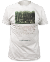 Joy Division Atmosphere White Short Sleeve Adult T-shirt