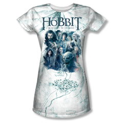 The Hobbit The Battle of the Five Armies Ready for Battle Junior Sublimation Front Print T-shirt
