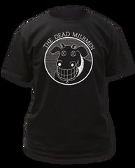 Dead Milkmen Cow Logo Black Cotton Short Sleeve Adult T-shirt