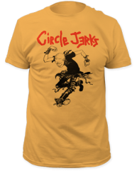 Circle Jerks Skank Man Ginger Cotton Short Sleeve Adult T-shirt