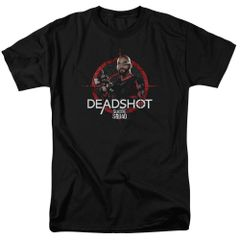 Suicide Squad Dead shot Target Adult T-shirt